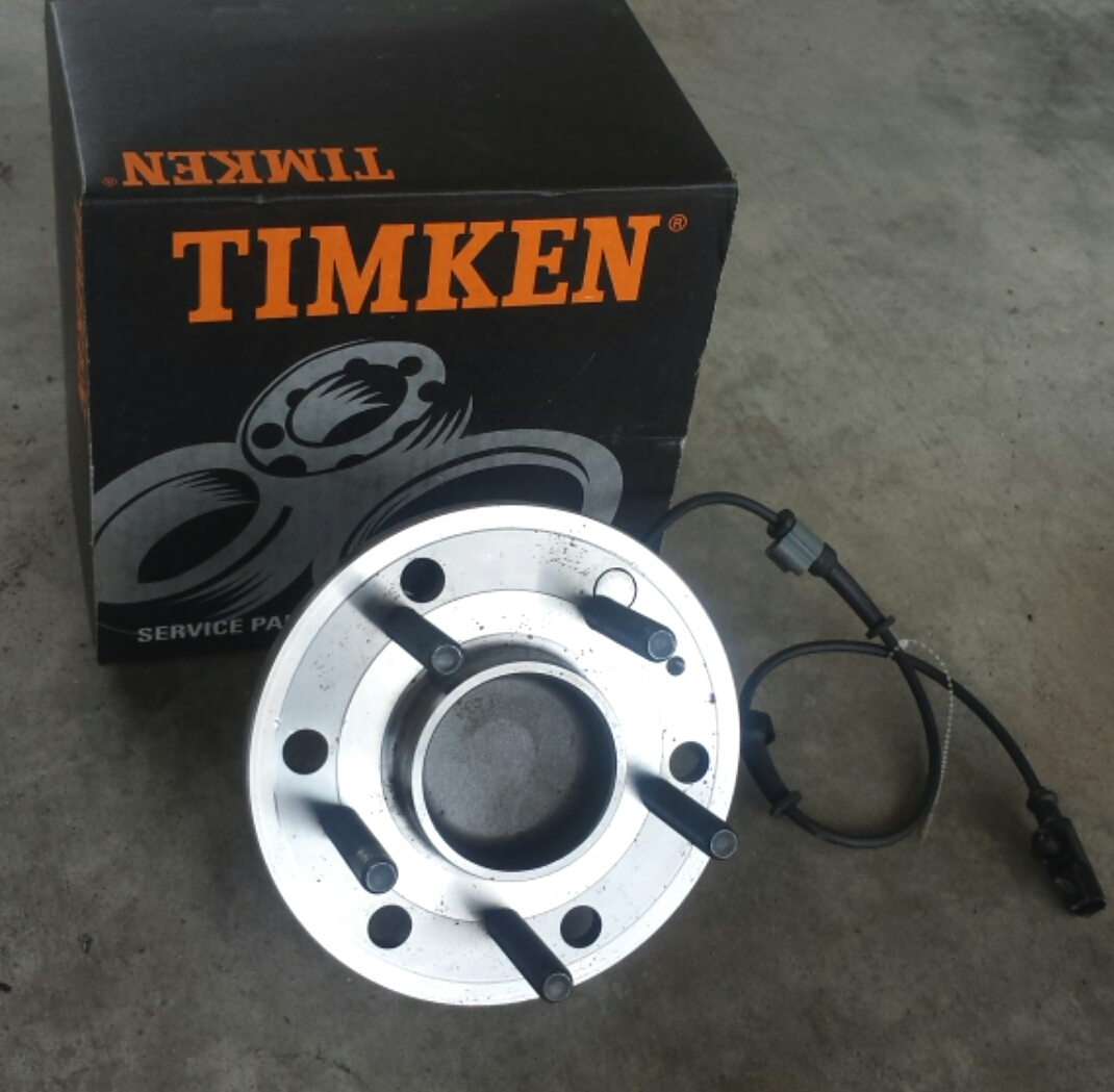 99+ Silverado/Sierra 6 to 5 lug Converted Timken hub assembly (Pair)