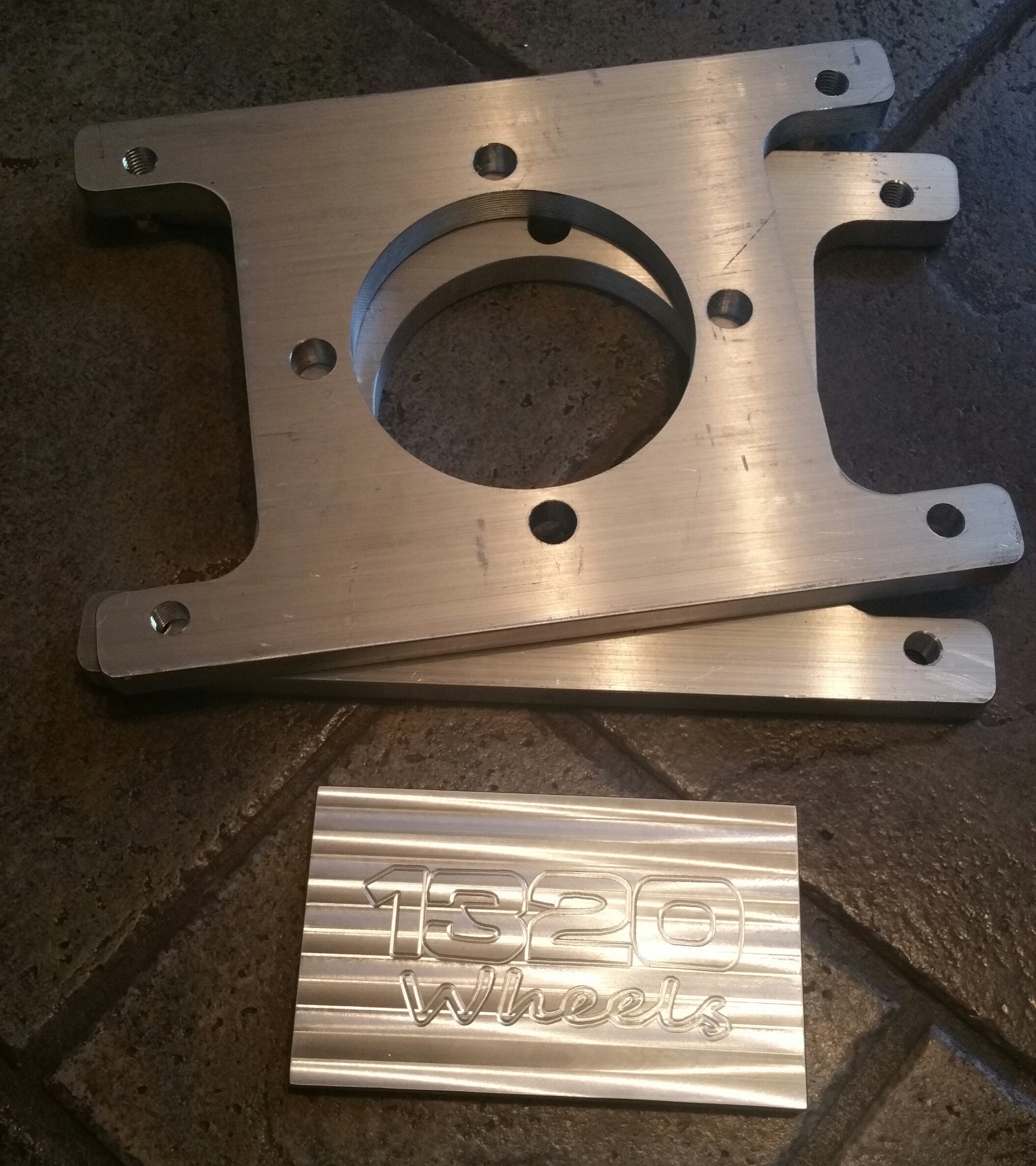 99+ Silverado/Sierra Rear DUAL CALIPER Brake Brackets (PAIR)