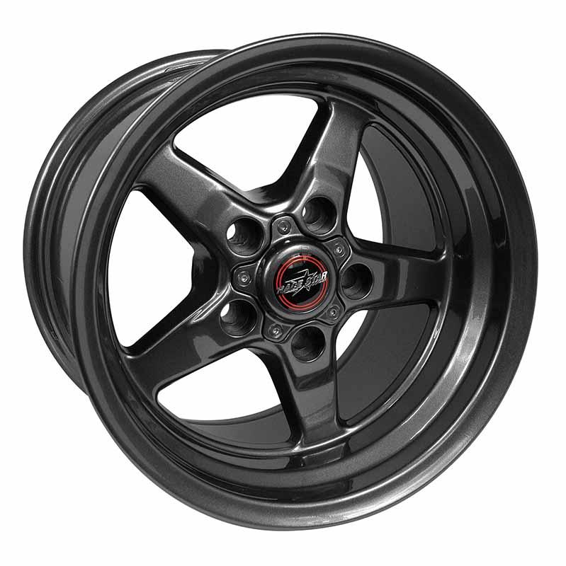 92-510152G 92 Drag Star Bracket Racer Metallic Gray  15x10 5x4.50BC 6.25BS