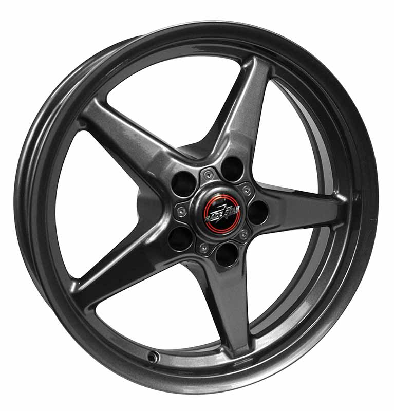 92-745142G 92 Drag Star Bracket Racer Metallic Gray  17x4.5 5x4.50BC 1.75BS