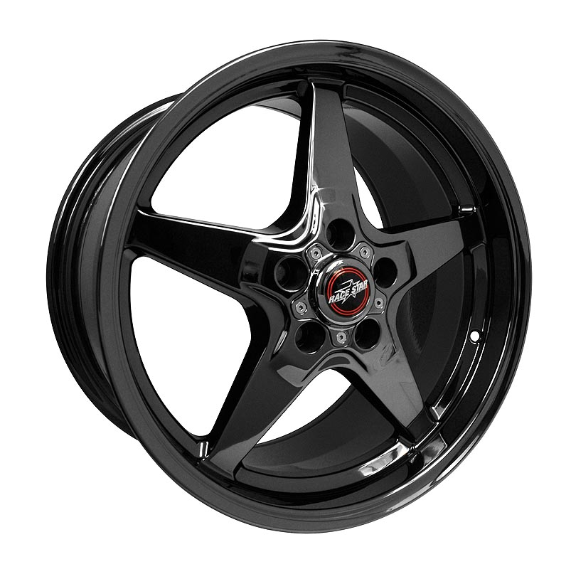 92-805253DSD 92 Drag Star Dark Star 18x10.5 5x4.75BC 7.00BS