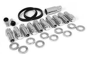 1/2 Closed End Lugs - 10 Pack - Centered Washer for Direct Drill