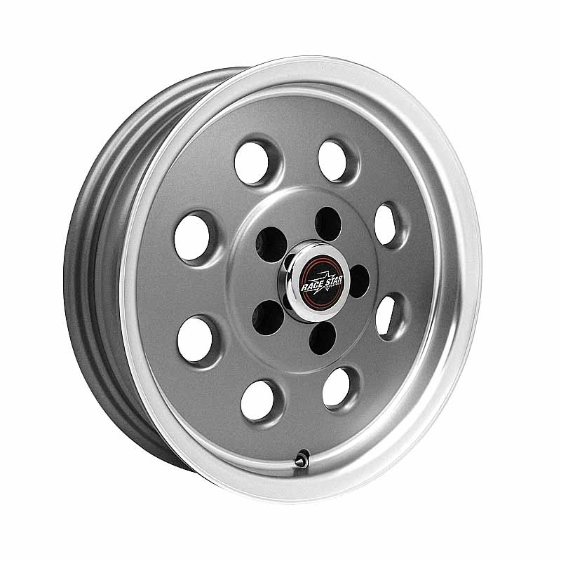 82-537140GP 82 Pro-Lite Metallic Gray with Machined Lip  15x3.75 5x4.50BC 1.25BS